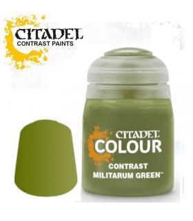 Pintura Contrast Militarum Green - Citadel