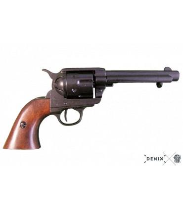"""Réplica revólver Colt Single Action Army en negro cañón 5.25"""" - Denix"""