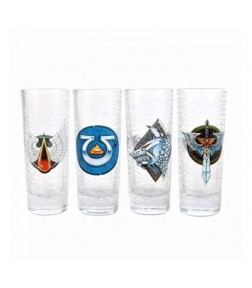 Set de 4 vasos de chupito Warhammer 40k - Games Workshop