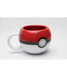 Taza Pokeball 3D - Pokemon