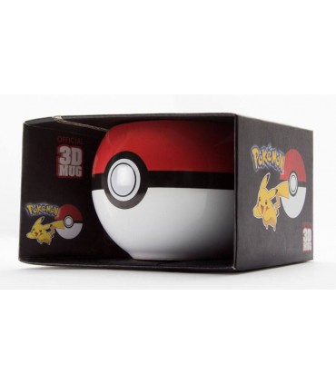 Taza Pokeball 3D - Pokemon