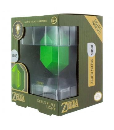 Lampara de ambiente - Rupia verde - The Legend of Zelda