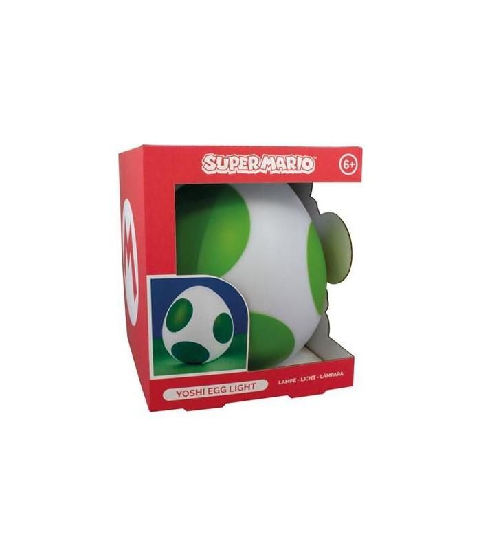 Lampara de ambiente - Huevo de Yoshi - Super Mario Bros.