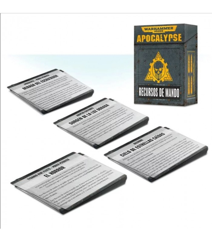 Apocalypse - Recursos de Mando - Warhammer 40.000