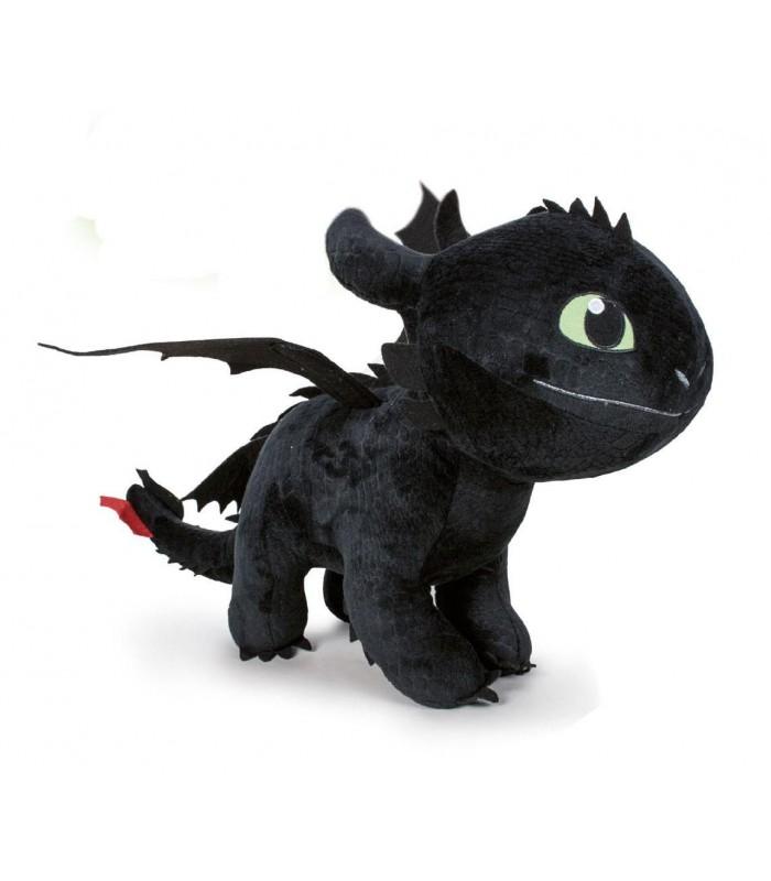 Peluche Desdentao - 60 cm - Cómo entrenar a tu dragón 3