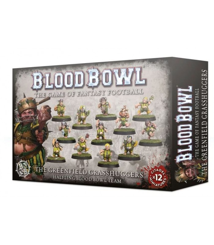 Equipo de Blood Bowl The Greenfield Grasshuggers - Blood Bowl