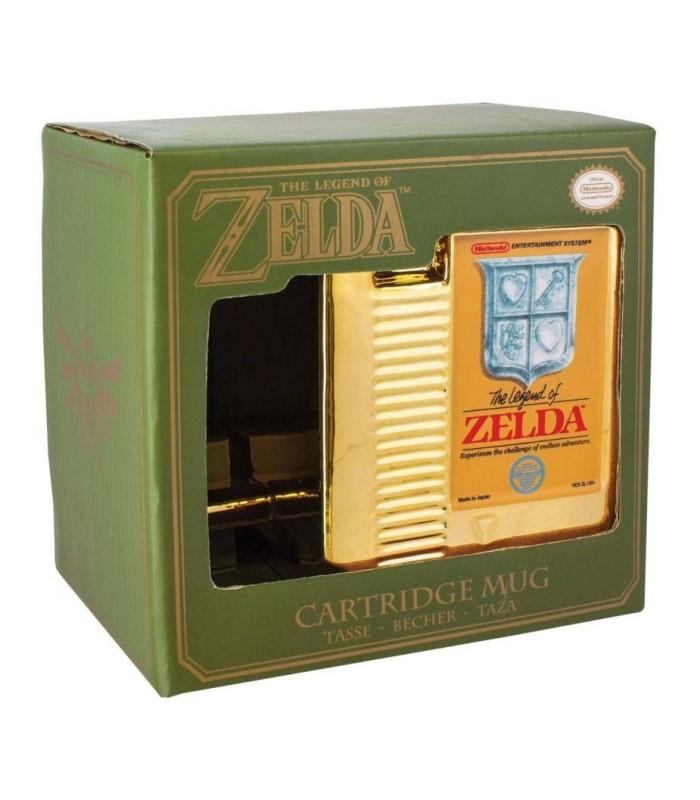 Taza Cartucho dorado NES - The Legend of Zelda