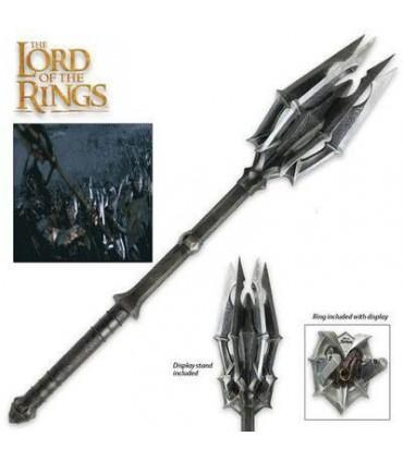 Réplica escala 1:1 de la Maza de Sauron - El Señor de Los Anillos