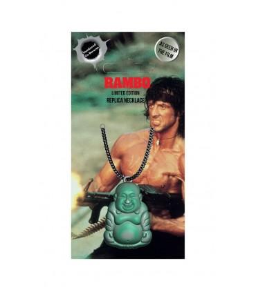 Réplica del colgante de Buda con cadena - Rambo