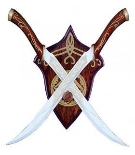 Cuchillos - Dagas Élficas de Legolas, escala 1:1