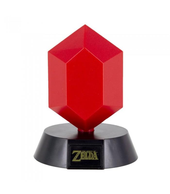 Lampara de ambiente - Rupia roja - The Legend of Zelda