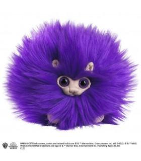 Peluche pequeño Pygmy Puff de color púrpura - Harry Potter