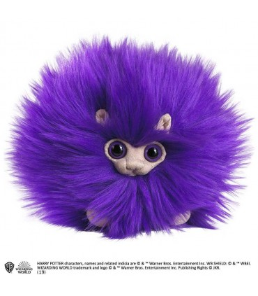 Peluche pequeño Pygmy Puff de color púrpura - Harry Potter
