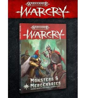 Libro Monstruos y Mercenarios - War Cry - Warhammer: Age of Sigmar