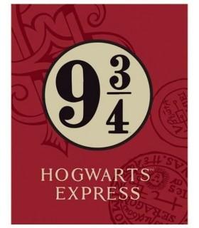 Manta Polar Andén 9 y 3/4 Hogwarts Express - Harry Potter