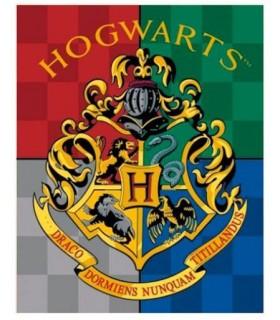 Manta Polar escudo de Hogwarts - Harry Potter