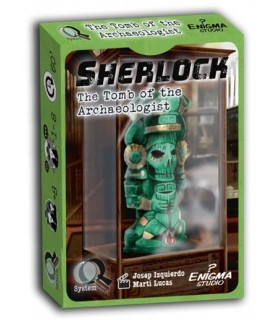 Sherlock Q Serie 1 - La Tumba del Arqueólogo - Juego de Mesa