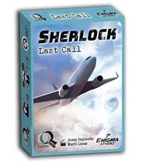 Sherlock Q Serie 1 - Última llamada - Juego de Mesa