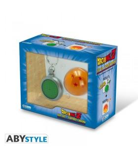 KIt de Bola de 4 Estrellas y Llavero Radar 3D con luz y sonido - Dragon Ball