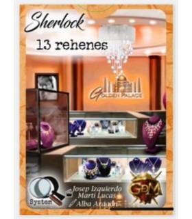 Sherlock Q Serie 2 - 13 Rehenes - Juego de Mesa