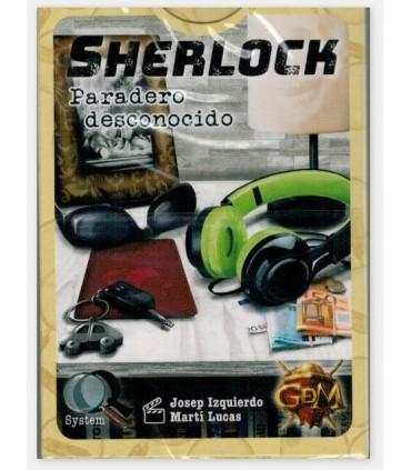 Sherlock Q Serie 2 - Paradero desconocido - Juego de Mesa