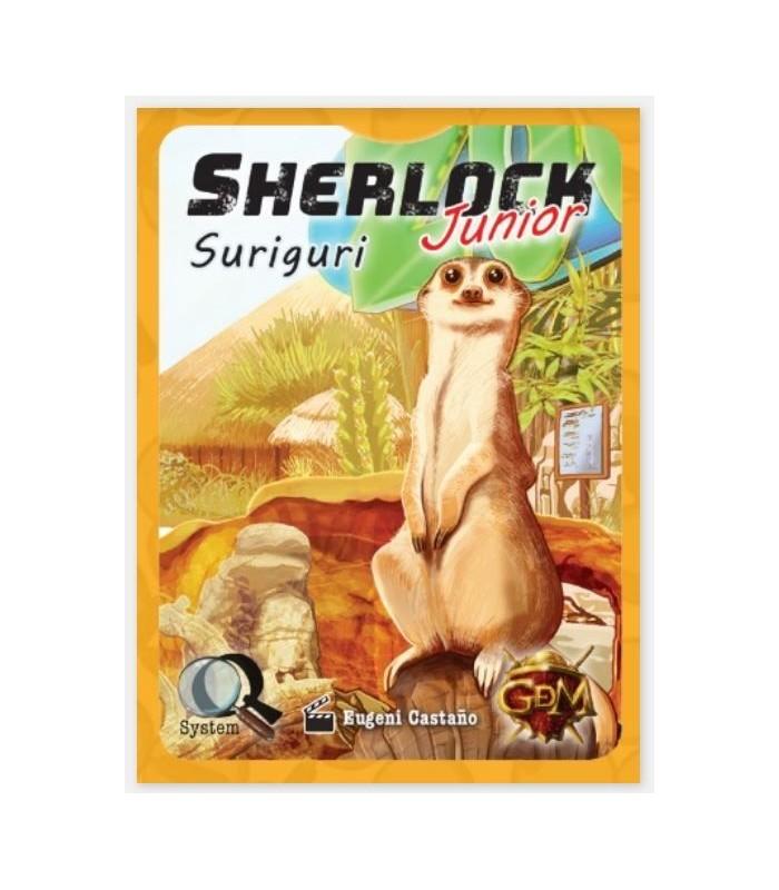 Sherlock Junior Q Serie 3 - Suriguri - Juego de Mesa