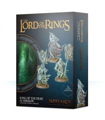 El rey de los muertos y sus heraldos - Middle Earth: strategy battle game