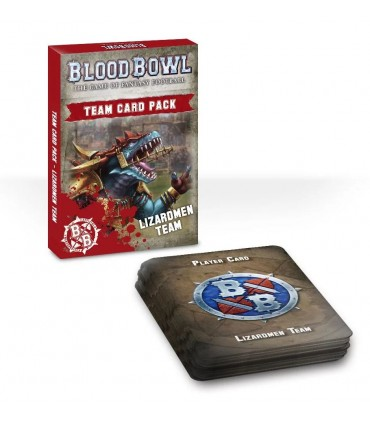 Set de cartas de equipo - Gwaka'moli Crater Gators - Blood Bowl