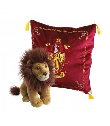 Cojín de la Casa Gryffindor con León de Peluche - Harry Potter