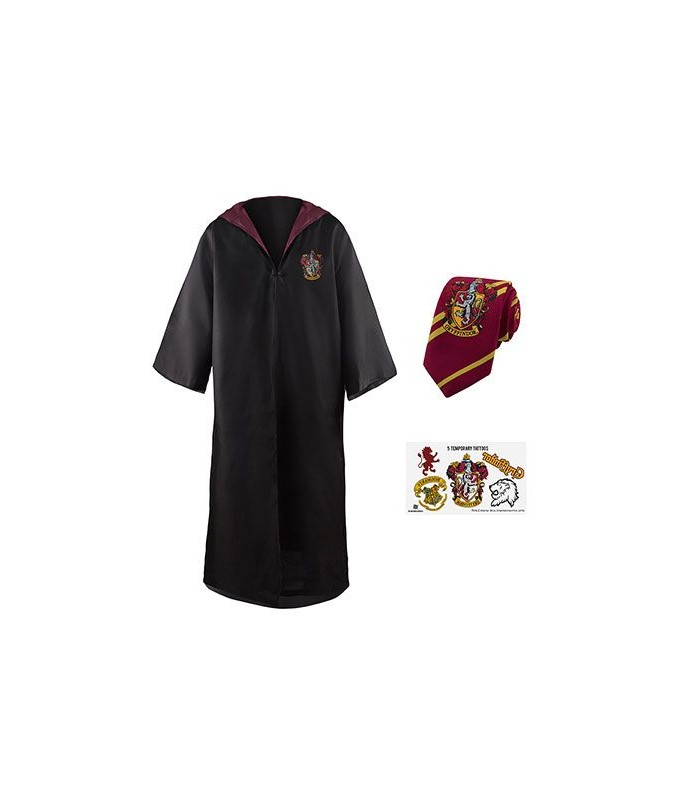 Conjunto económico Túnica y Corbata Gryffindor - Harry Potter