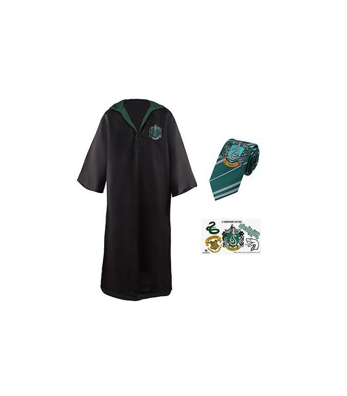 Conjunto económico Túnica y Corbata Slytherin - Harry Potter