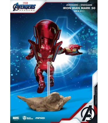 Iron Man Nano-armadura MK50 - Mini-Egg Attack - Avengers: Endgame