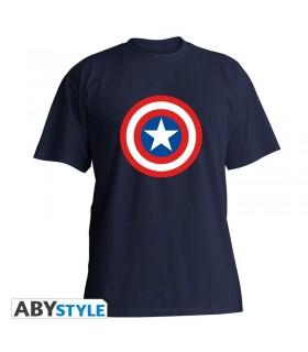 Camiseta Escudo Capitán América - Los Vengadores