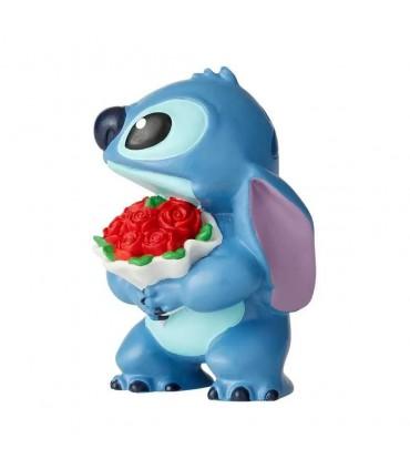 Stitch con flores - Lilo y Stitch