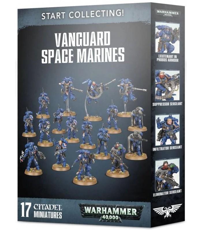 Start collecting! Vanguard Space Marines - Warhammer40K