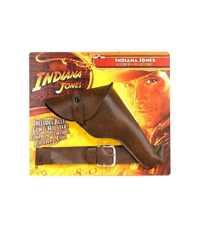 Pistola y Cartuchera con Cinturón Indiana Jones