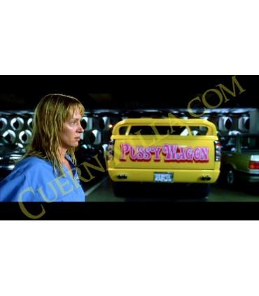 "Coche Ranchera Coñoneta ""Pussy Wagon"" Réplica Kill Bill E.L."