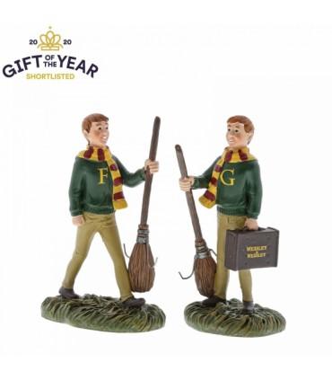 Set de figuras Fred y George - Harry Potter