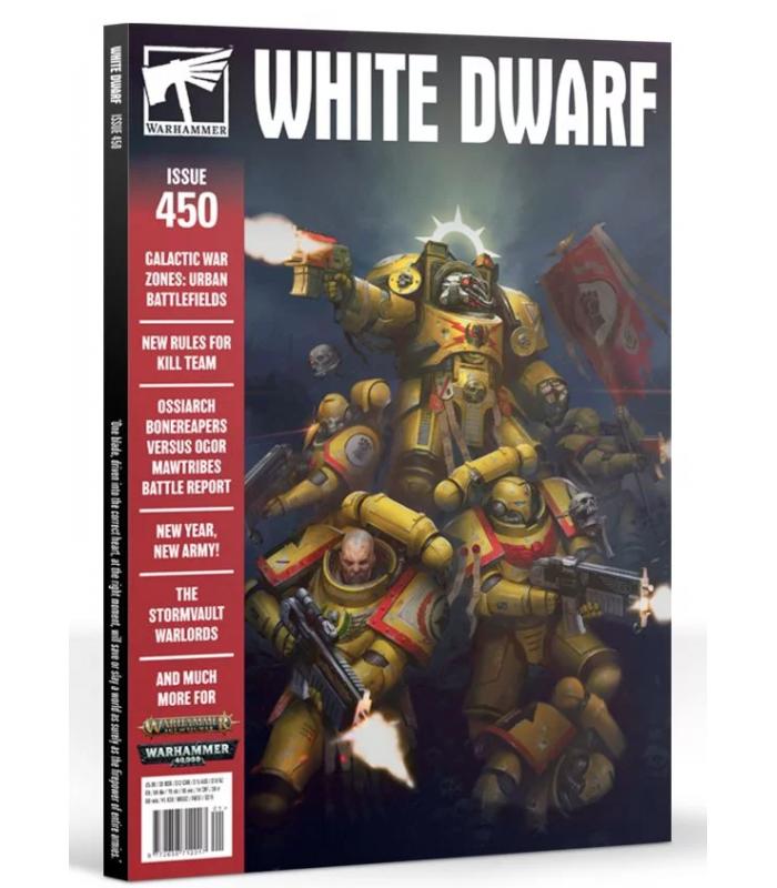 Revista White Dwarf enero 2020 (en inglés)