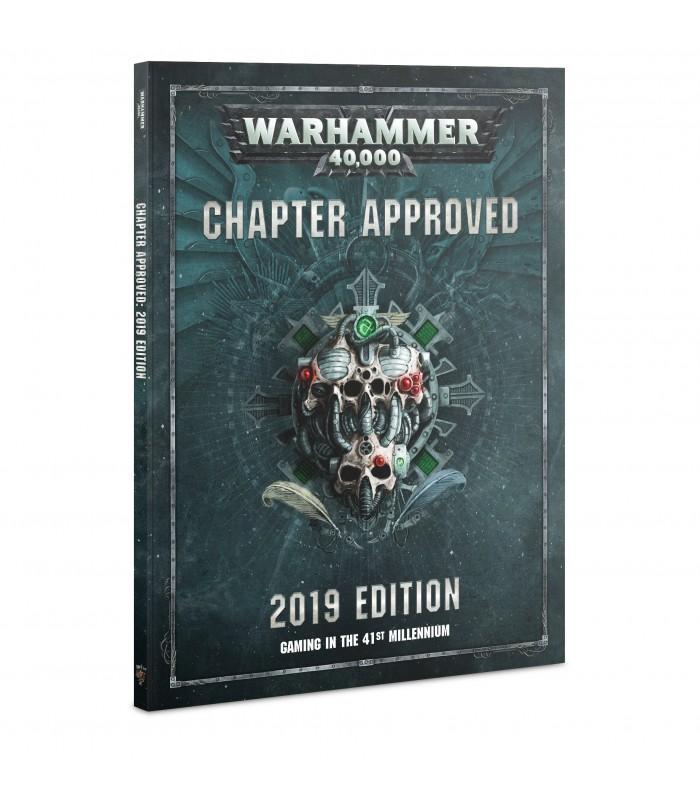 Libro Aprobado por el Capítulo Edición 2019 - Warhammer 40.000