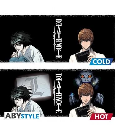 Taza térmica L y Kira - Death Note