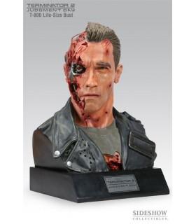Busto Terminator T-800 Life-Size Bust Escala 1:1 con Luz