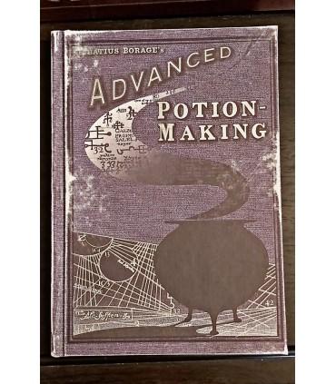 Réplica ilustrada del Libro de pociones Avanzadas - Harry Potter