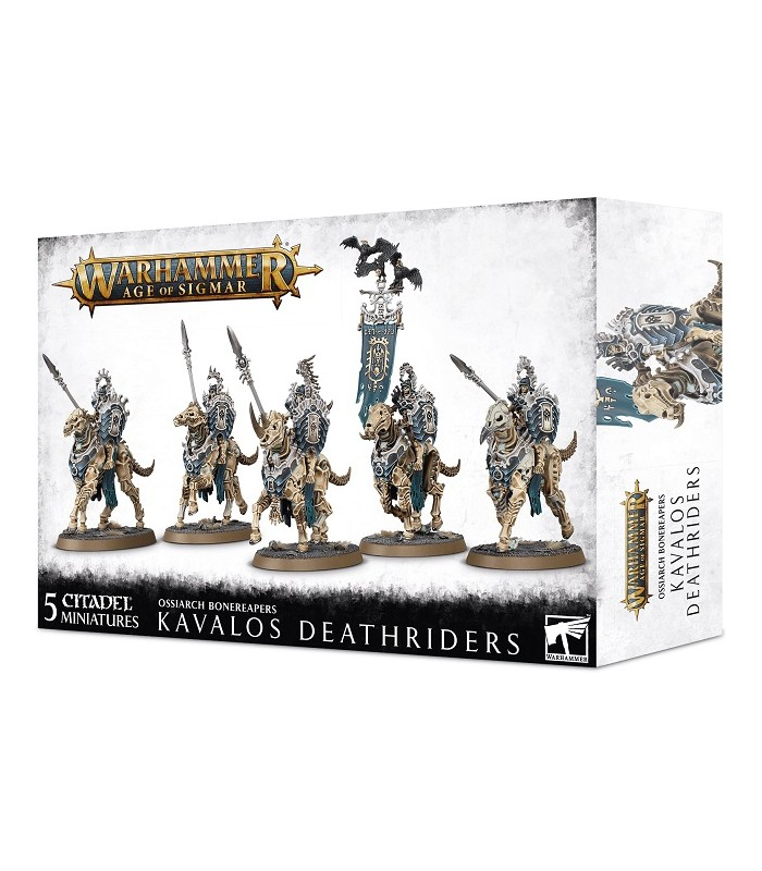 Kavalos Deathriders - Ossiarch Bonereapers - Age of Sigmar