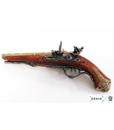 Réplica pistola de dos cañones de Napoleón.