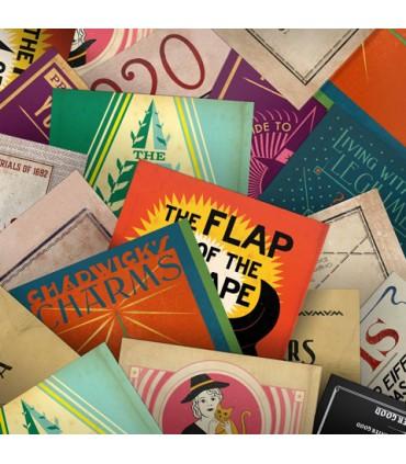 Colección de postales variadas de Libros de Magia- Animales fantásticos y donde encontrarlos