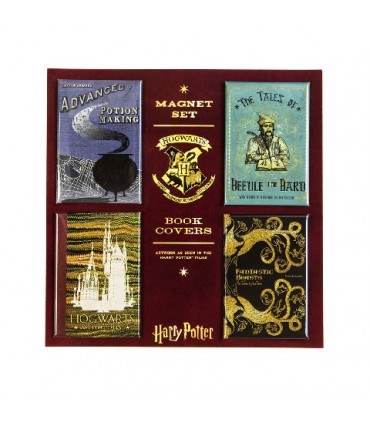 Set de imanes de portadas de libros - Harry Potter
