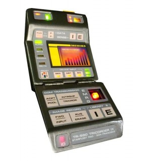 Mark IX Science Tricorder Prop Replica Star Trek Primer Contacto