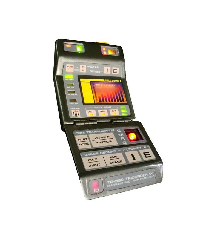 Mark IX Science Tricorder Prop Replica Star Trek Primer Contacto
