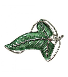 Broche Élfico (Hoja de Lórien) (Plata - Noble Collection)